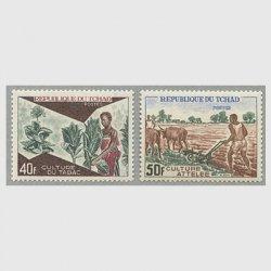 チャド 1972年タバコ栽培2種