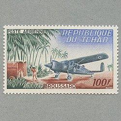チャド 1963年Broussard機と郵便自動車
