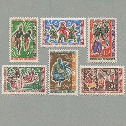 ダホメ 1964年民族の踊り6種