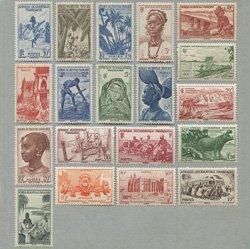 南西アフリカ 1947年生活の風景と人々19種