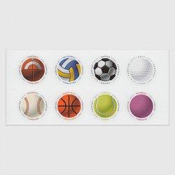 アメリカ 2017年ボール8種連刷