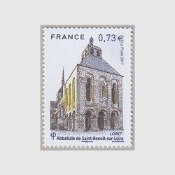 フランス 2017年サン・ブノア・シュル・ロワール修道院