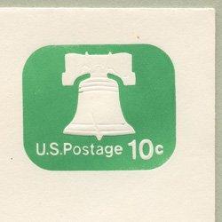 切手付封筒 アメリカ1973年自由の鐘