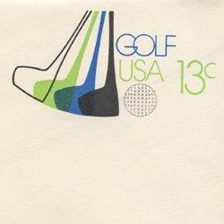 切手付封筒 アメリカ1977年ゴルフ