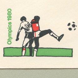 切手付封筒 アメリカ1979年オリンピック