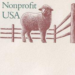 切手付封筒 アメリカ1995年羊(大)