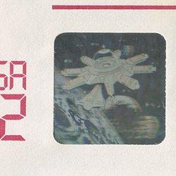 切手付封筒 アメリカ1995年宇宙開発ホログラム32c
