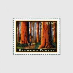 アメリカ 2009年レッドウッドフォレスト優先切手