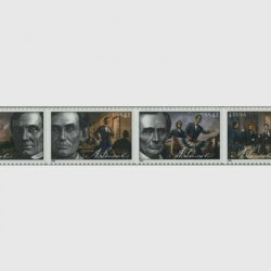 アメリカ 2009年エイブラハム・リンカーン4種連刷