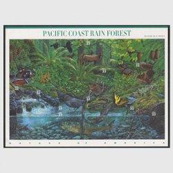 アメリカ 2000年太平洋岸温帯雨林