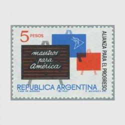 アルゼンチン 1963年黒板