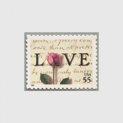 アメリカ 2001年LOVE バラ55c
