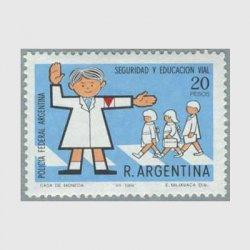 アルゼンチン 1968年交通安全