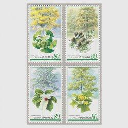 中国 2006年稀少植物4種(2006-5T)