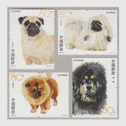 中国 2006年犬4種(2006-6T)