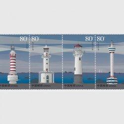 中国 2006年現代の灯台4連(2006-12T)