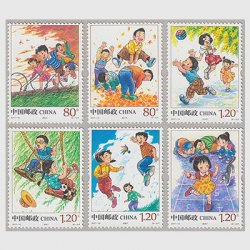 中国 2017年子供の遊び6種
