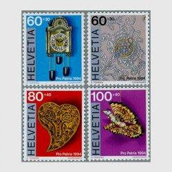 スイス 1994年スイスの民芸品4種