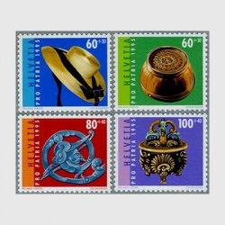 スイス 1995年スイスの民芸品4種