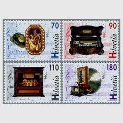 スイス 1996年オルゴールと自動演奏装置4種