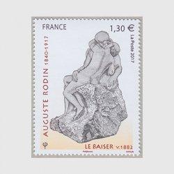 フランス 2017年美術切手オーギュスト・ロダン