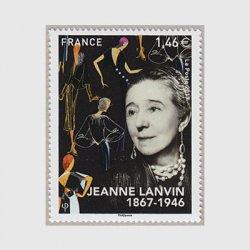 フランス 2017年ジャンヌ・ランバン生誕150年