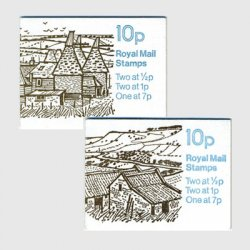 イギリス 切手帳「農村シリーズ」