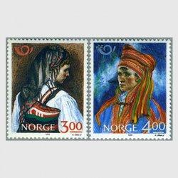 ノルウェー 1989年民族衣装2種
