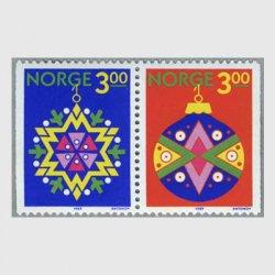 ノルウェー 1989年クリスマス2種
