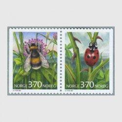 ノルウェー 1997年てんとう虫など2種