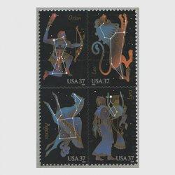 アメリカ 2005年星座4種連刷