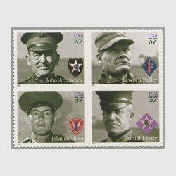 アメリカ 2005年偉大な海兵隊委員4種連刷