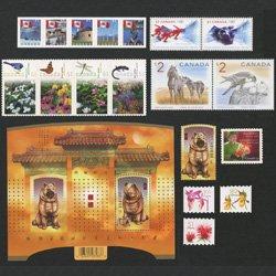 カナダ切手ミニセット