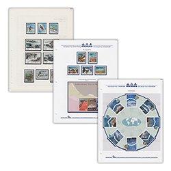 山岳切手コレクション