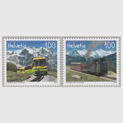 スイス 2018年鉄道2種