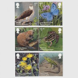 イギリス 2018年復活した動植物6種