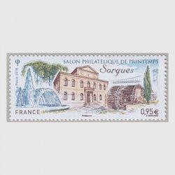 フランス 2018年春の郵趣サロン
