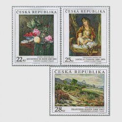 チェコ共和国 2006年美術切手3種