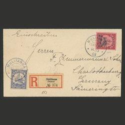 サモア 1908年エンタイア