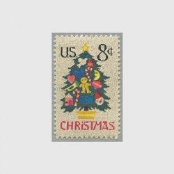 アメリカ 1973年クリスマスツリー