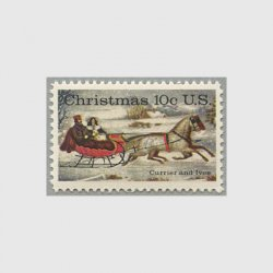 アメリカ 1974年クリスマス馬ゾリ