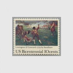 アメリカ 1975年独立戦争200年レキシントン・コンコードの戦い