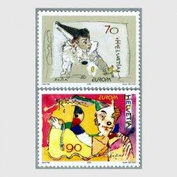 スイス 2002年ヨーロッパ切手サーカス2種