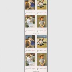 アメリカ 2003年メアリー・カサットの絵画 切手帳ペーン