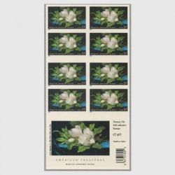アメリカ 2004年画家M.J.ヘッデの作品切手帳ペーン
