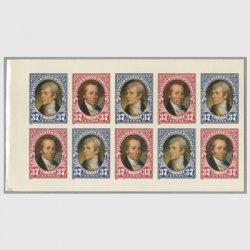 アメリカ 2004年ルイス・クラーク探検200年切手帳ペーン