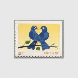 アメリカ 2006年LOVE2羽の鳩(first class)