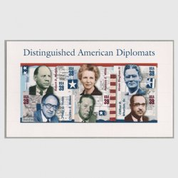 アメリカ 2006年アメリカの外交官小型シート