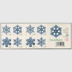 アメリカ 2006年クリスマス切手帳ペーン(ルレット11.3x11.5)