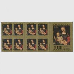 アメリカ 2007年クリスマス聖母子切手帳ペーン